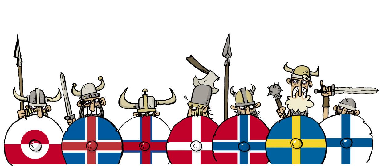 Tegner Vikinger Skraentskov Banner Jon Skr 230 Ntskov