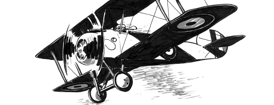 Sopwith Camel fly